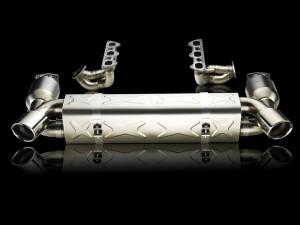 Evolution race exhaust system Porsche GT2