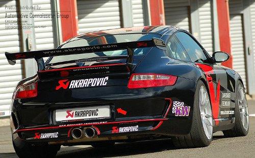 Akrapovic sponsored Porsche 911
