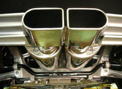 Callaway Corvette Exhaust Close-up