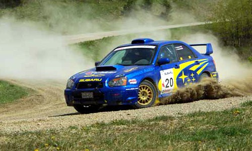 Basic rally racing driving techniques