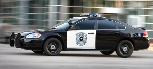 Chevy Impala police interceptor sedan