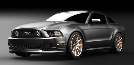 SEMA women only Mustang build.