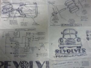 MagnaFlow Revolver Truck Features 8 Mufflers