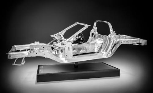 Corvette aluminum frame