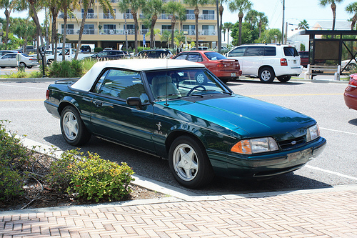 Fox Body Mustang Convertible
